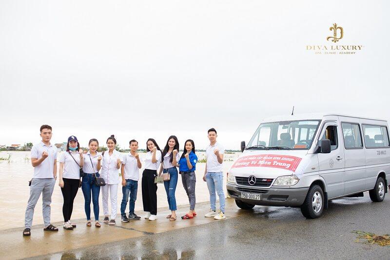 Hành trình sẻ chia cùng đồng bào miền Trung của Tập đoàn DIVA GROUP